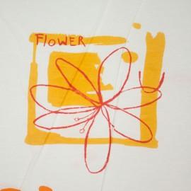 Tecido Algodão Est. Percal Floral/Folhas