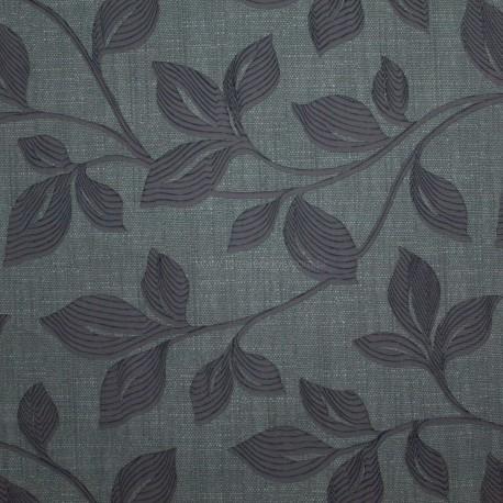 Tecido Veludo Provence Cinza c/ Grafite