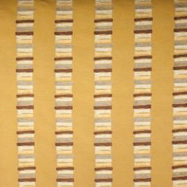 Tecido Gobelem Pesado Mostarda com Marrom
