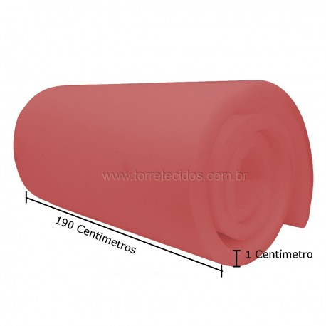 Espuma D23 1cm espessura