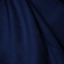 Tecido Veludo Velvet Molhado Azul Noite