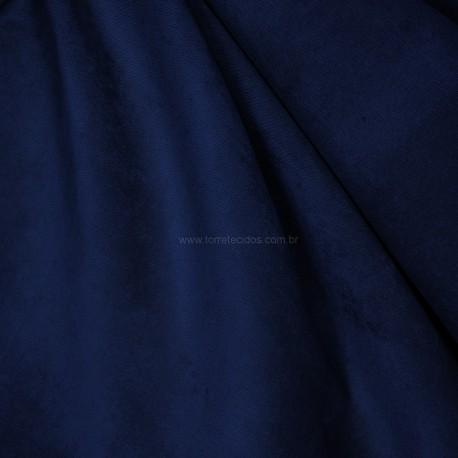 Veludo Velvet Molhado Azul Noite