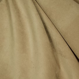 Veludo Velvet Molhado Camurça
