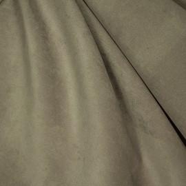 Tecido Veludo Velvet Molhado Bege