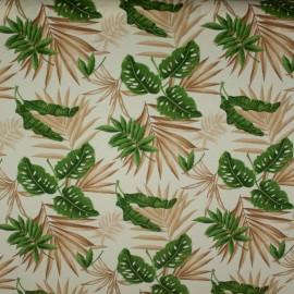 Tecido Gorgurão Belize Folhas