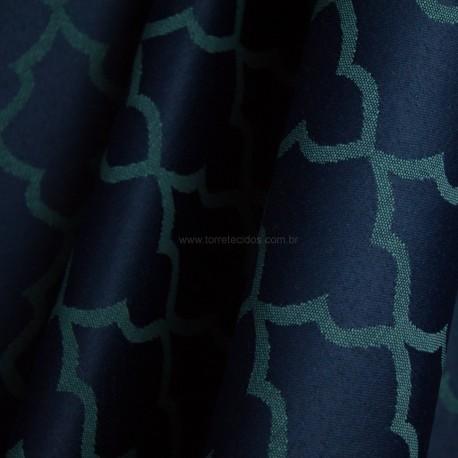 Tecido Jacquard 2,80 Azul