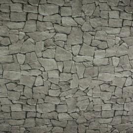 Tecido Jacquard Marble Pedras Cinza