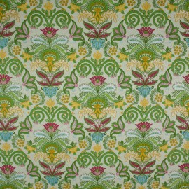 Tecido Jacquard Marble Cachemir Verde