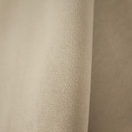 Tecido Veludo Liso Marfim 2