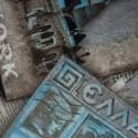 Tecido Suede Amassada Europa Cinza/Azul