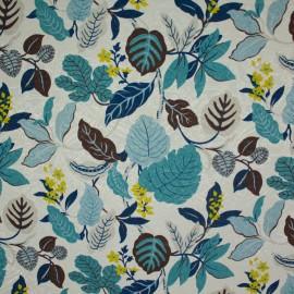 Tecido Jacquard Marble Hamonia Azul