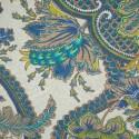 Tecido Jacquard Marble Cachemir Azul