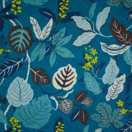 Tecido Jacquard Marble Harmonia Azul Escuro