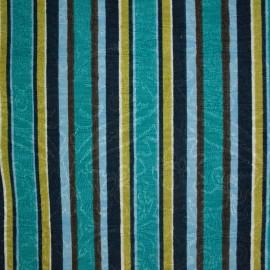 Jacquard Marble Listrado Azul/Marron