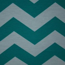 Tecido Gorgurão Belize Chevron Tiffany