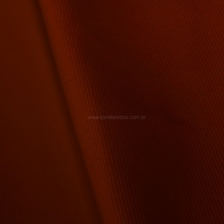 Tecido Sarja de Algodão Peletizada Vermelha