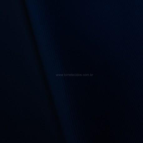Tecido Sarja de Algodão Peletizada Azul Noite