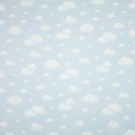 Tecido Gorgurão Belize Nuvem Azul