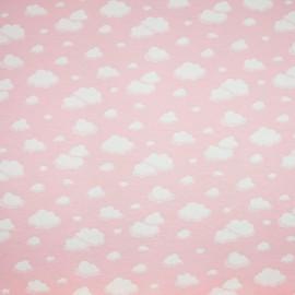 Tecido Gorgurão Belize Nuvem Rosa