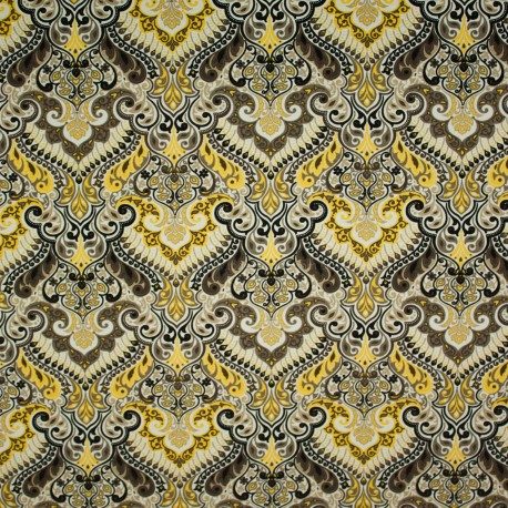 Tecido Gorgurão Belize marroquino Amarelo