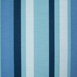 Tecido Gorgurão Waterblock Listras Finas Azul