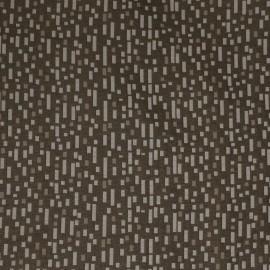 Tecido Jacquard Retângulo Cru/Dourado