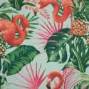 Tecido Gorgurão Waterblock Flamingo