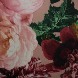 Tecido Veludo Vellus Cravo Rose