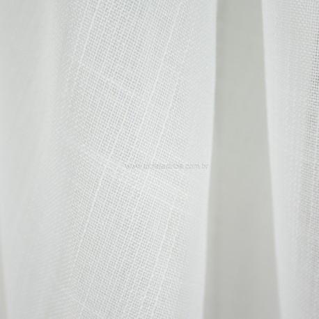 Tecido Rústico Poli Branco
