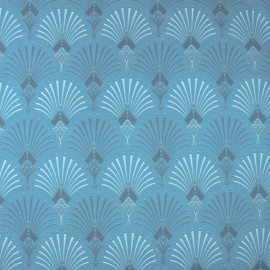 Tecido Veludo Vellus Turin Azul