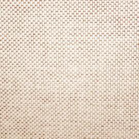 Tecido Jacquard Rústico Ecologico Creme/ Marrom