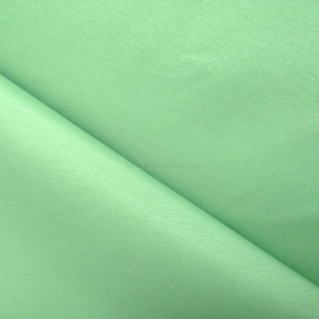 Tecido Gorgurão Waterblock Liso Verde Pistache