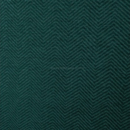 Gorgurão chevron verde ardosia